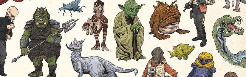Star Wars: Atlas bytostí a tvorů