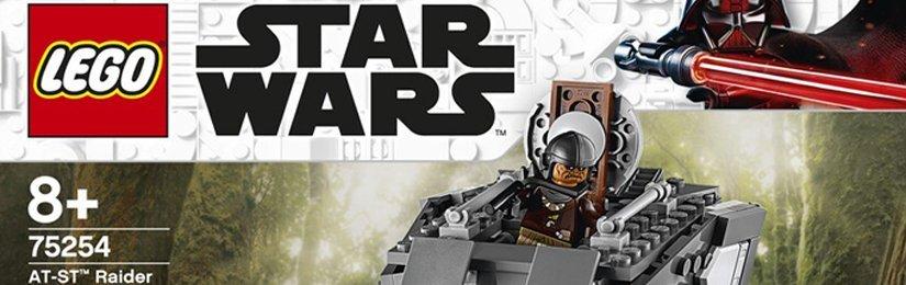 Recenze: LEGO AT-ST Raider