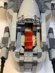 RECENZE: LEGO The Mandalorian Loď nájemného lovce (4)