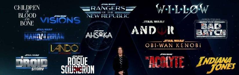Nové filmy a seriály Star Wars oznámeny!