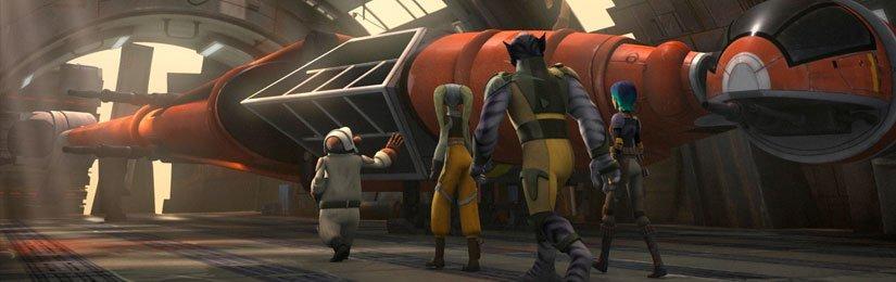 RECENZE: Star Wars Povstalci S02E07: Křídla mistrovství