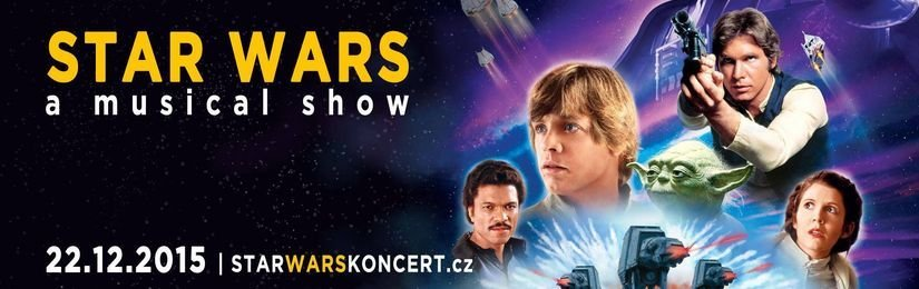 Star Wars koncertní show míří do Rudolfina