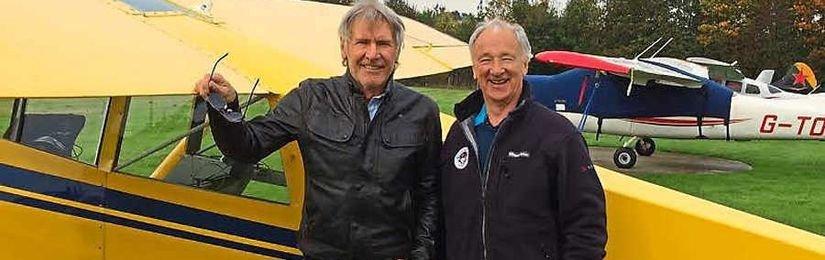 Harrison Ford málem havaroval při přistání