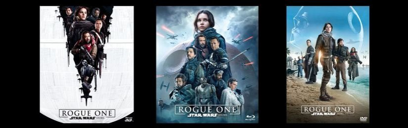 Rogue One: Star Wars Story na Blu-ray